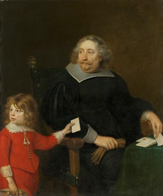 Cornelis de Vos, Bildnis des Salomon Cock mit Sohn