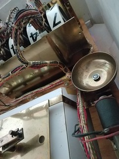 Brass Bell and old school counter on reels.
