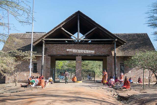 Masai Mara Gate