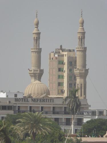 minya egypt mosque minaret
