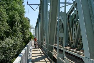 Slovakian border bridge