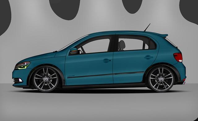 Volkswagen gol g6 KIT.