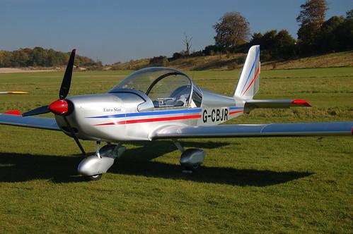 G-CBJR Evektor EV-97A (2001-1139 / PFA 315-13845) Popham 121008