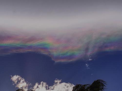 palmsprings desert rainbow clouds sky