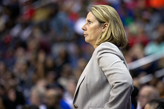 Minnesota Lynx Coach Cheryl Reeve, Minnesota Lynx vs Washington Mystics game at Capital One Arena, Washington DC | by Lorie Shaull