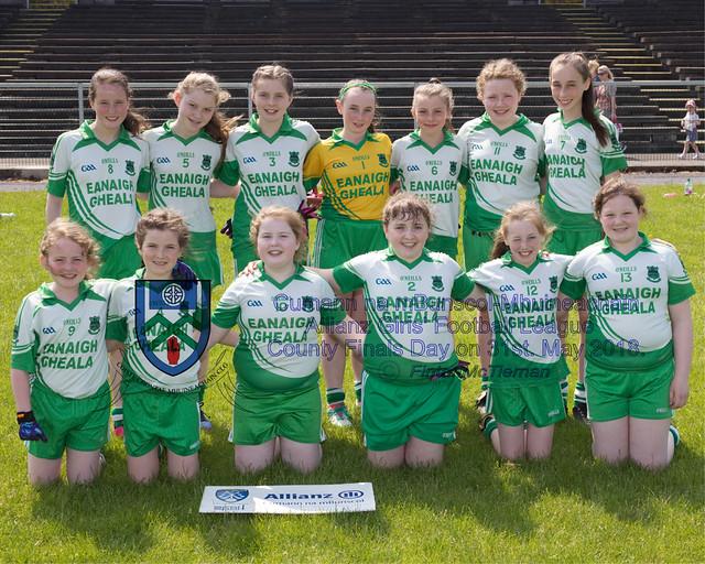 Cumann na mBunscol - Mhuineacháin - Girls' Football League Finals Day 2018