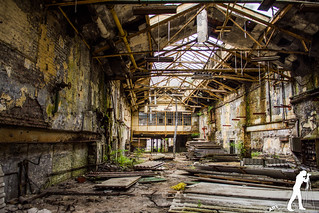 Lost Places: Die alte Gießerei   by smartphoto78