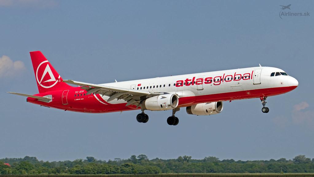 TC-ETF AtlasGlobal Airbus A321-231