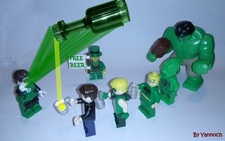 St Patrick' Day with Green Men | by yannoch06