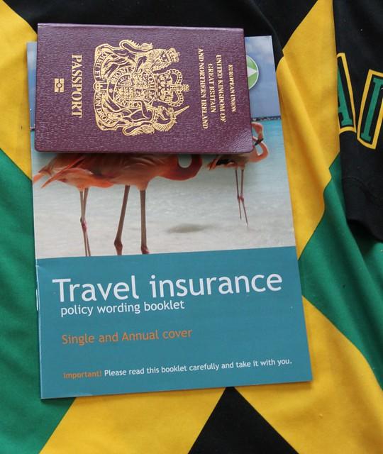 Passport  tick, Travel insurance tick,.......