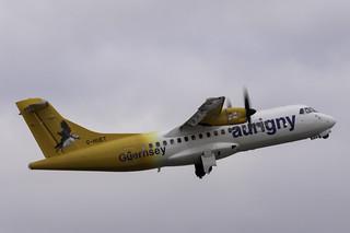 Aurigny ATR 42 G HUET | by paulziets
