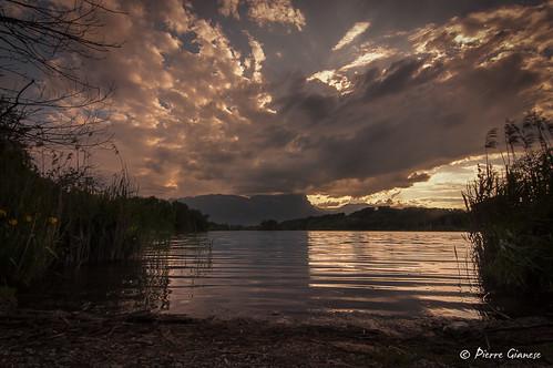 paysage landscape nature lac lake nuages clouds nikon d90 tokina 1228