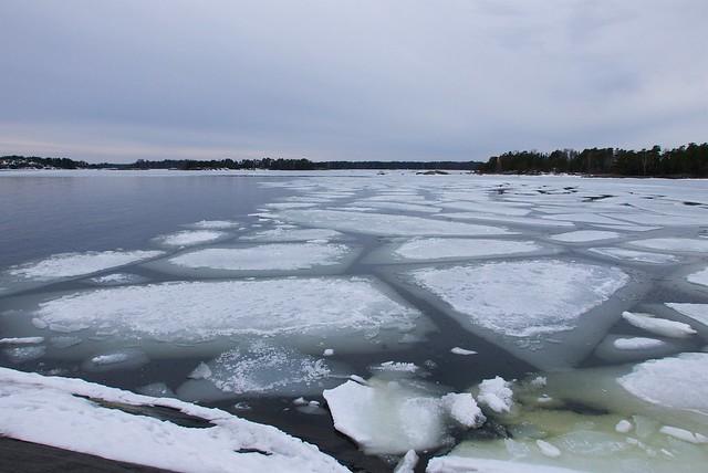 Jäidenlähtö Skatanniemessä