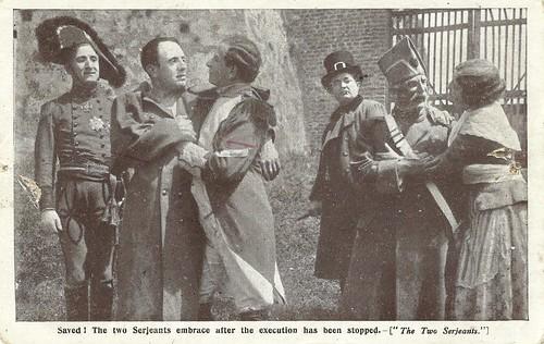 Alberto Capozzi in I due sergenti