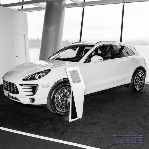 2018 Porsche Macan S on Display at Vancouver Intl Auto Show Photo