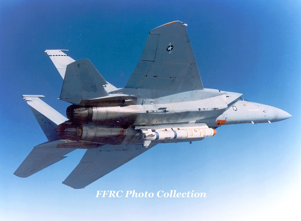 F-15A 76-0086 carrying ASM-135 ASAT anti-satellite missile…   Flickr