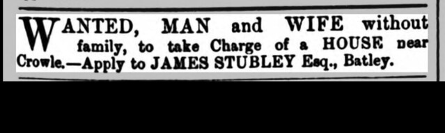 James Stubley looking for staff