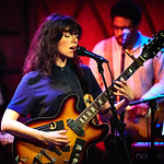 Thu, 31/05/2018 - 7:45pm - Natalie Prass and her band perform live on WFUV Radio from Rockwood Music Hall in New York City, 5/31/18. Hosted by Russ Borris. Photo by Gus Philippas/WFUV