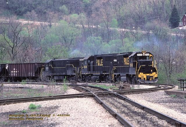 PLE 2032-2034-2819, Brownsville, PA. 4-23-1986