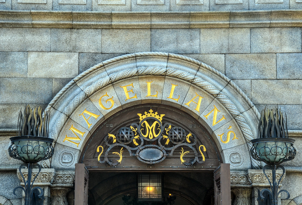 Magellan's sign outside TDS