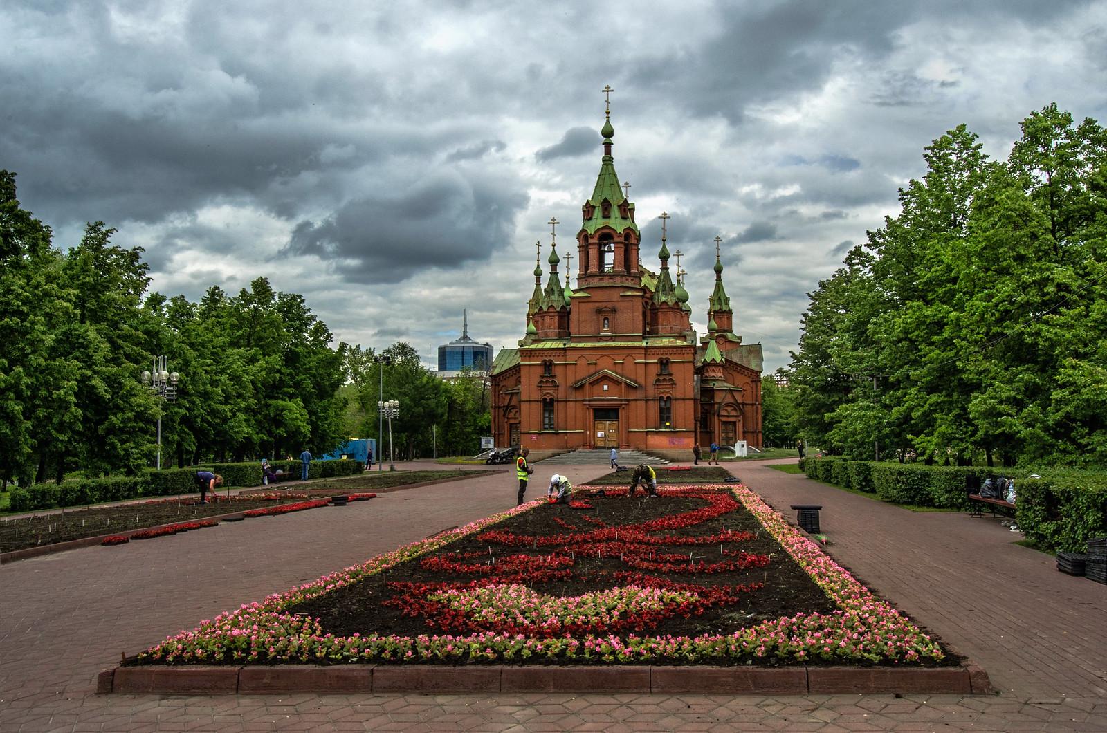 Храм Александра Невского Челябинск