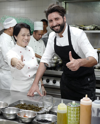 Chef Jessie Sincioco and Chef  Musaro Rocco Roberto   by OURAWESOMEPLANET: PHILS #1 FOOD AND TRAVEL BLOG
