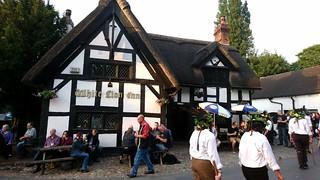 The White Lion & Domesday Morris, Barthomley, Cheshire, 07.06.18