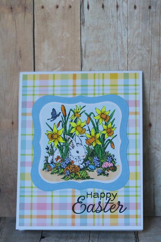 White Bunny Easter