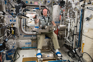 Expedition 56 Flight Engineer Alexander Gerst of the European Space Agency | by NASA Johnson