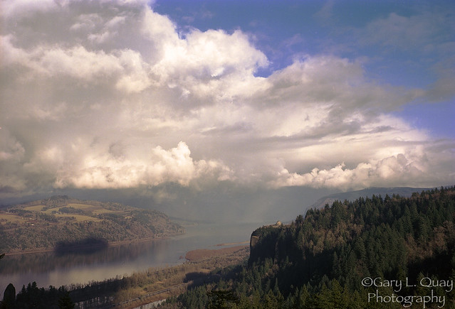 Columbia Gorge and Vista House