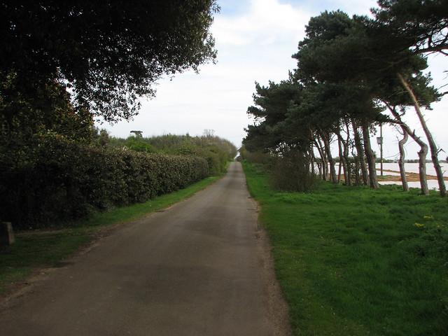 The road to Alderton