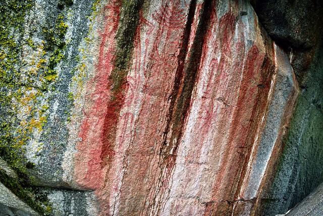 Petroglyphs and Ancient Rock Carvings at Hospital Rock