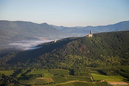 Les châteaux du Ramstein et de l'Ortenbourg