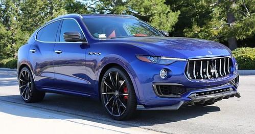 Auto Tuning : Larte Design Splashes Maserati Levante With Carbon Fiber Elements   by Cars Love