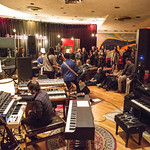 Tue, 06/03/2018 - 9:19pm - Producer, songwriter, guitarist Jonathan Wilson and his band perform for WFUV members at Electric Lady Studios in New York City. 3/6/18 Hosted by Rita Houston. Photo by Gus Philippas/WFUV