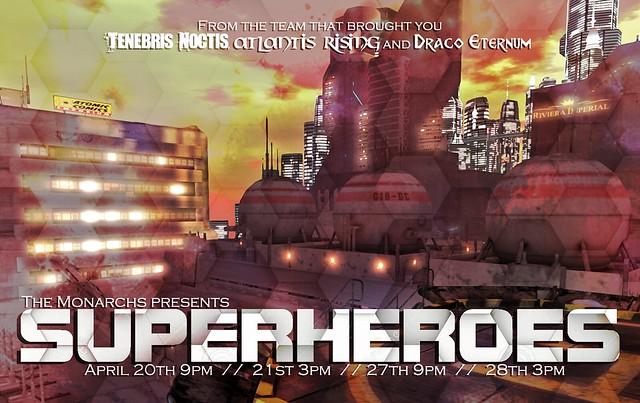 Superheroes Poster 006