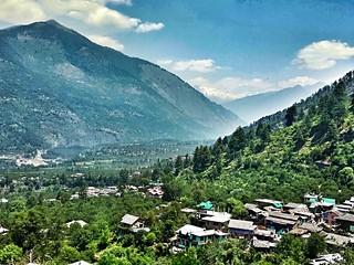Toward Manali from Naggar
