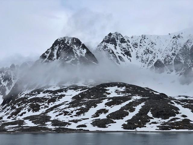 Paisajes árticos en Svalbard