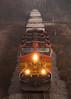 Westbound Intermodal Near Hazelhurst, IL by Christopher J May