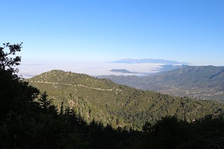 031 Looking west over the marine layer toward distant Mt Baldy on the San Bernardino Peak Trail | by _JFR_