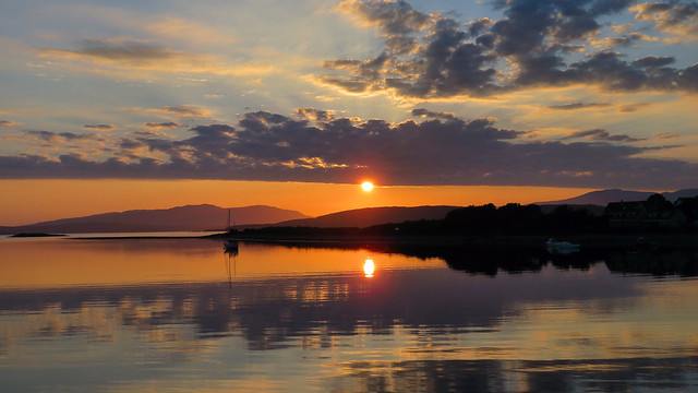 Sunset, Oban, Scotland