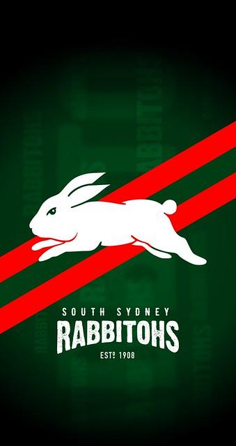 South Sydney Rabbitohs iPhone 6/7/8 Lock Screen Wallpaper