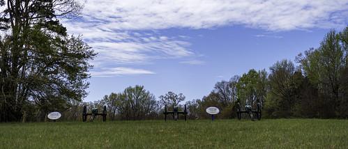 Willard's and Thompson's Battery in Jones Field