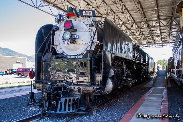 UP 833 | Alco 4-8-4 | Utah State Railroad Museum
