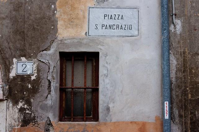 window, Anagni, Lazio