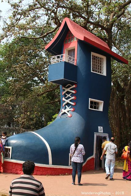 The Shoe House - Kamala Nehru Park Mumbai Maharashtra India