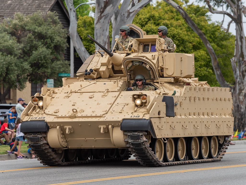M2A2 Bradley Infantry Fighting Vehicle | mark6mauno | Flickr