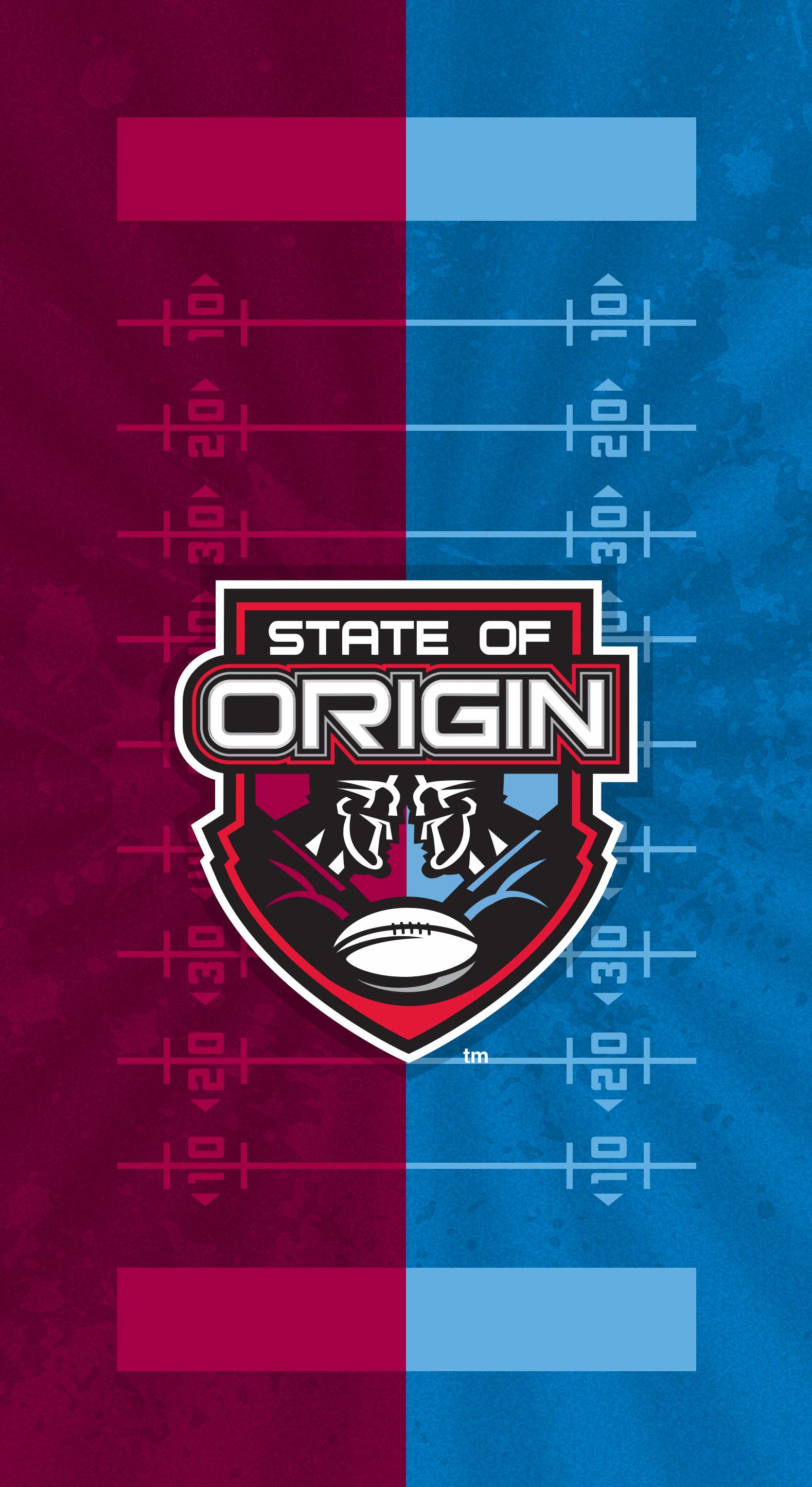 2013 State of Origin iPhone X Lock Screen Wallpaper