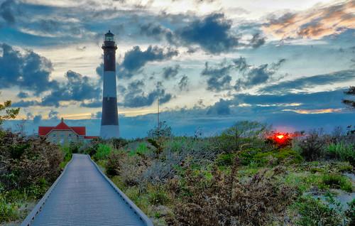fireislandnationalseashore fireisland fireislandlighthouse lighthouse longisland sunset clouds nikon nikond3200 greatphotographers