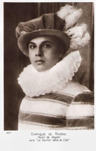 Enrique Rivero in Le tournoi dans la cité (1928)